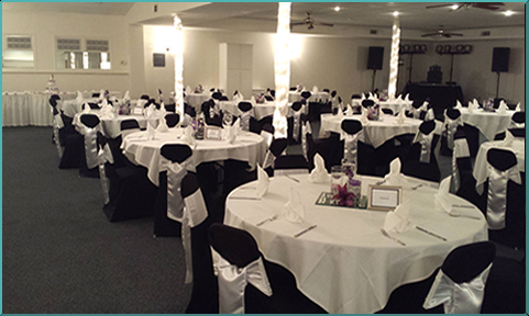 Reception And Banquet Facilities In The Qca Tanglewood Hills